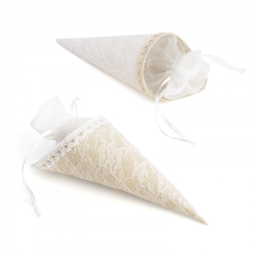mayorista detalles boda cono arroz