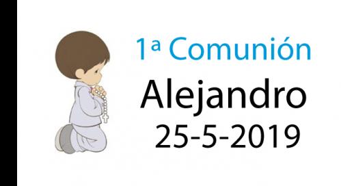 Etiquetas comunión niño rezando