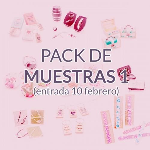 Pack de muestras 10 Febrero