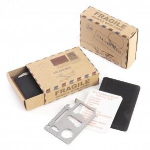 Caja postal kit supervivencia