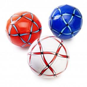 Balon futbol rayado