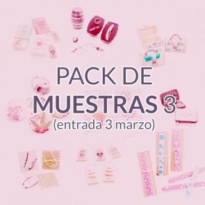 Pack de muestras 3 Marzo