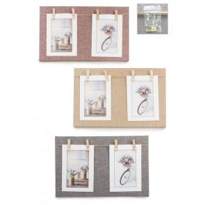 Portafoto madera cuadro
